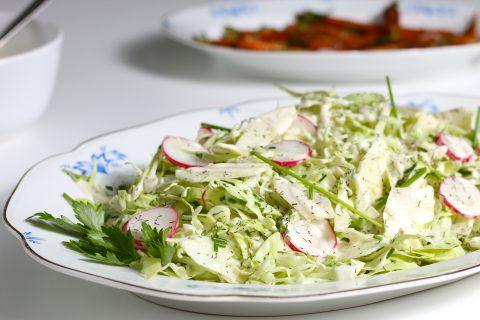coleslaw med wasabi