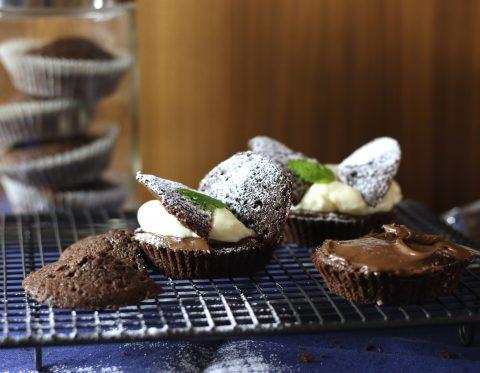 Chokladfjärilar med nutella