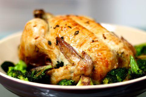 kyckling med ramslök