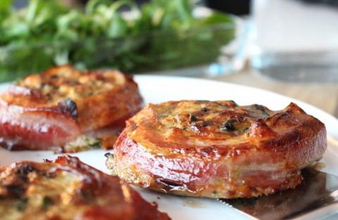Kycklingpuck med bacon