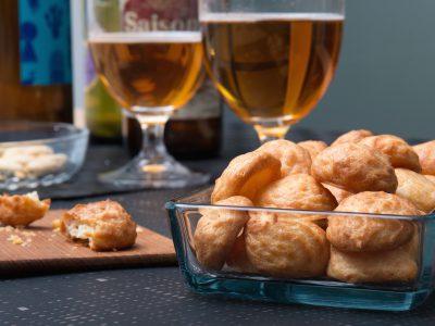 Gougères – franska ostpuffar