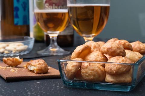 Gougères - franska ostpuffar