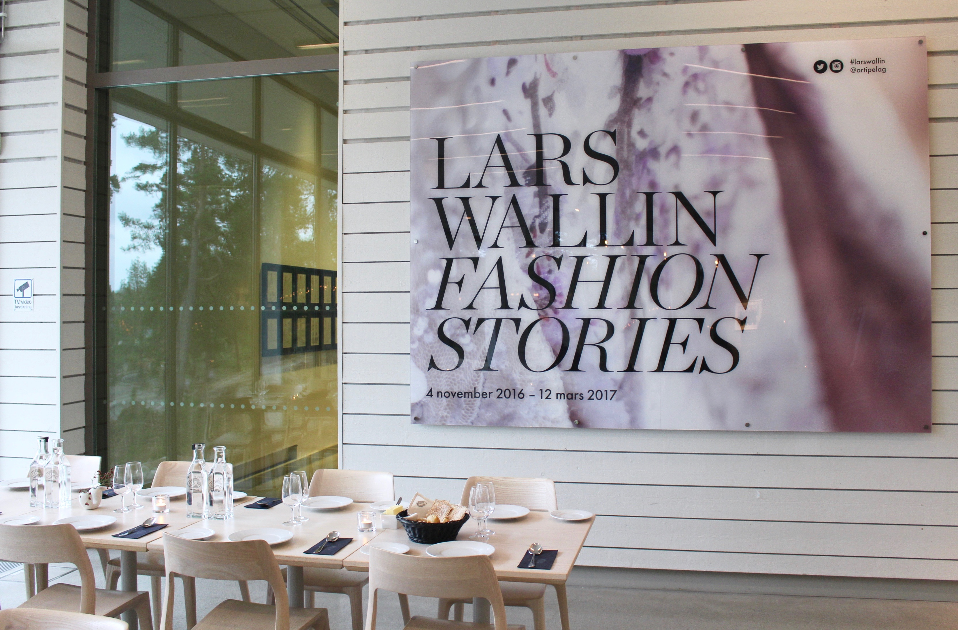 Lars Wallin - Fashion Stories på Artipelag
