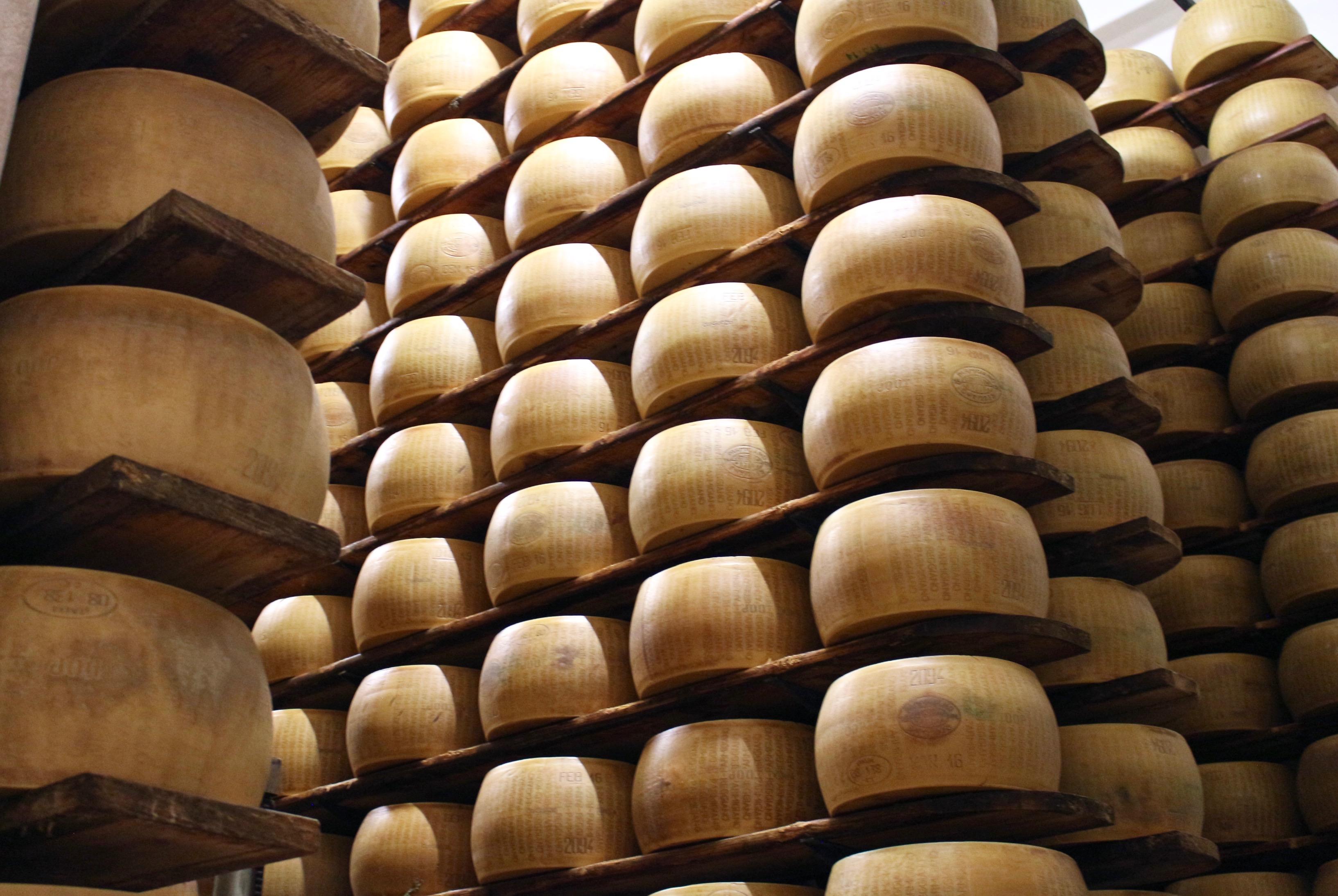 Parmigiano Reggiano lagring
