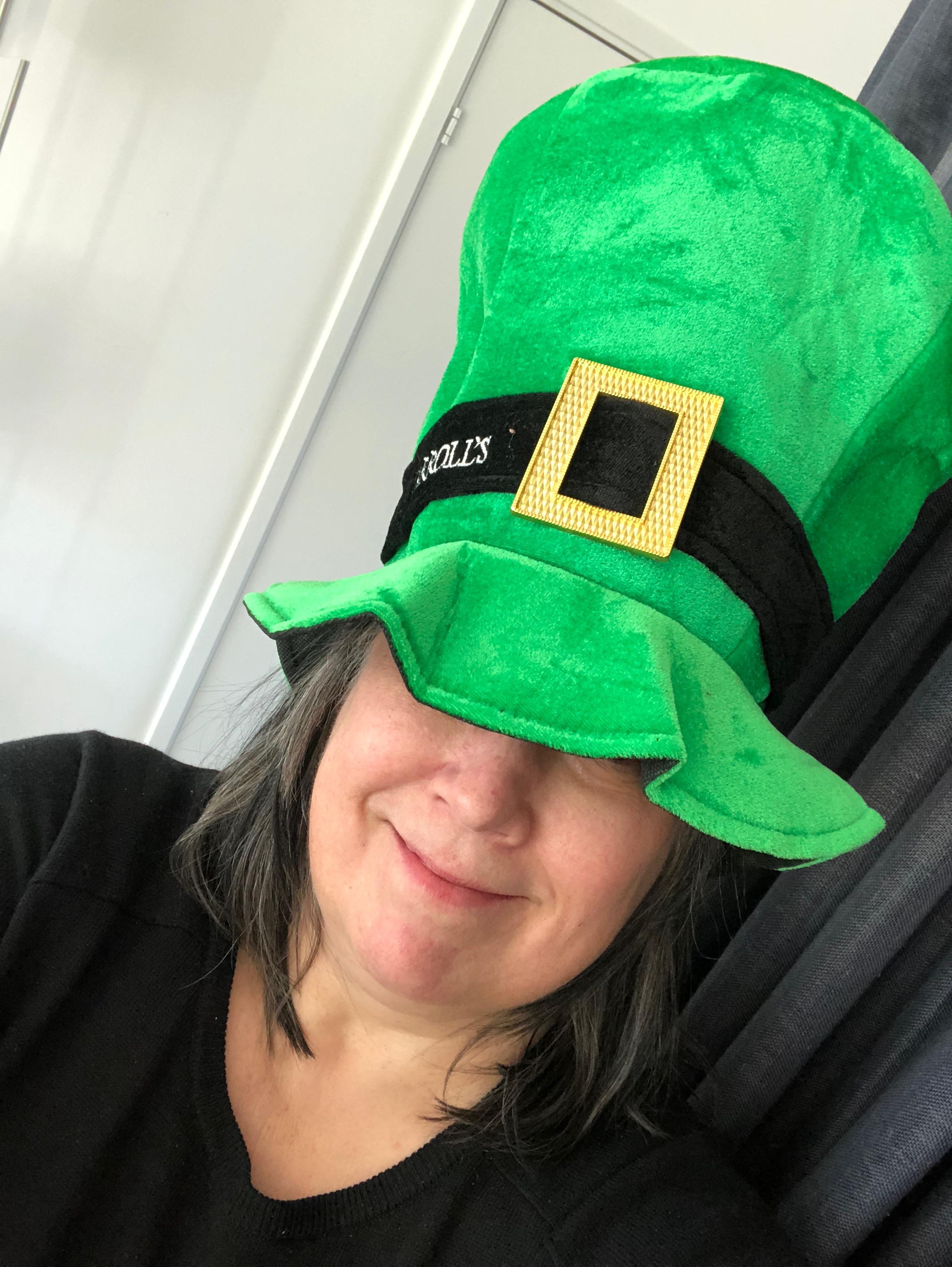 St Patrick's Day hatt