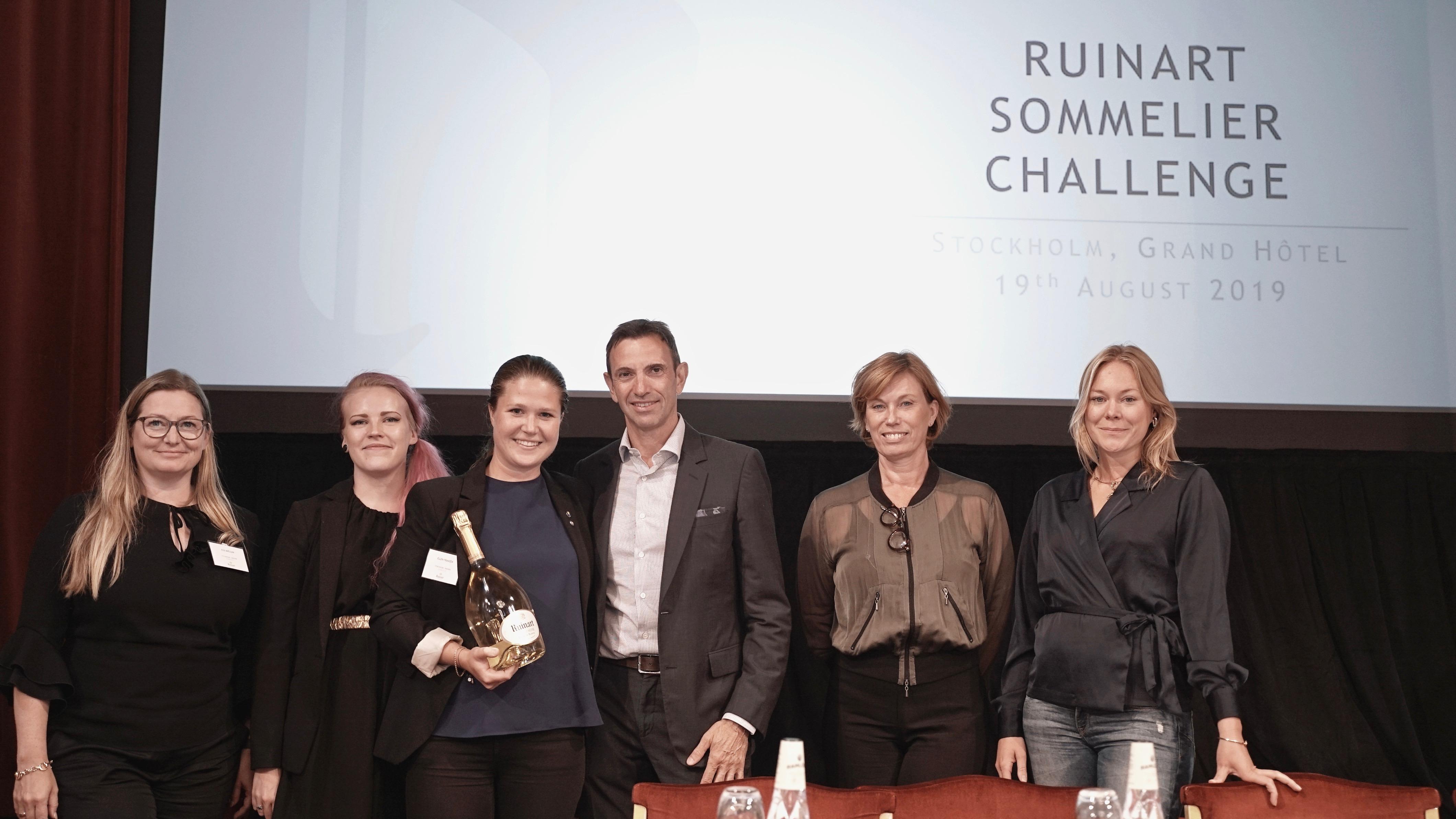 Ruinart Nordic Sommelier Challenge 2019