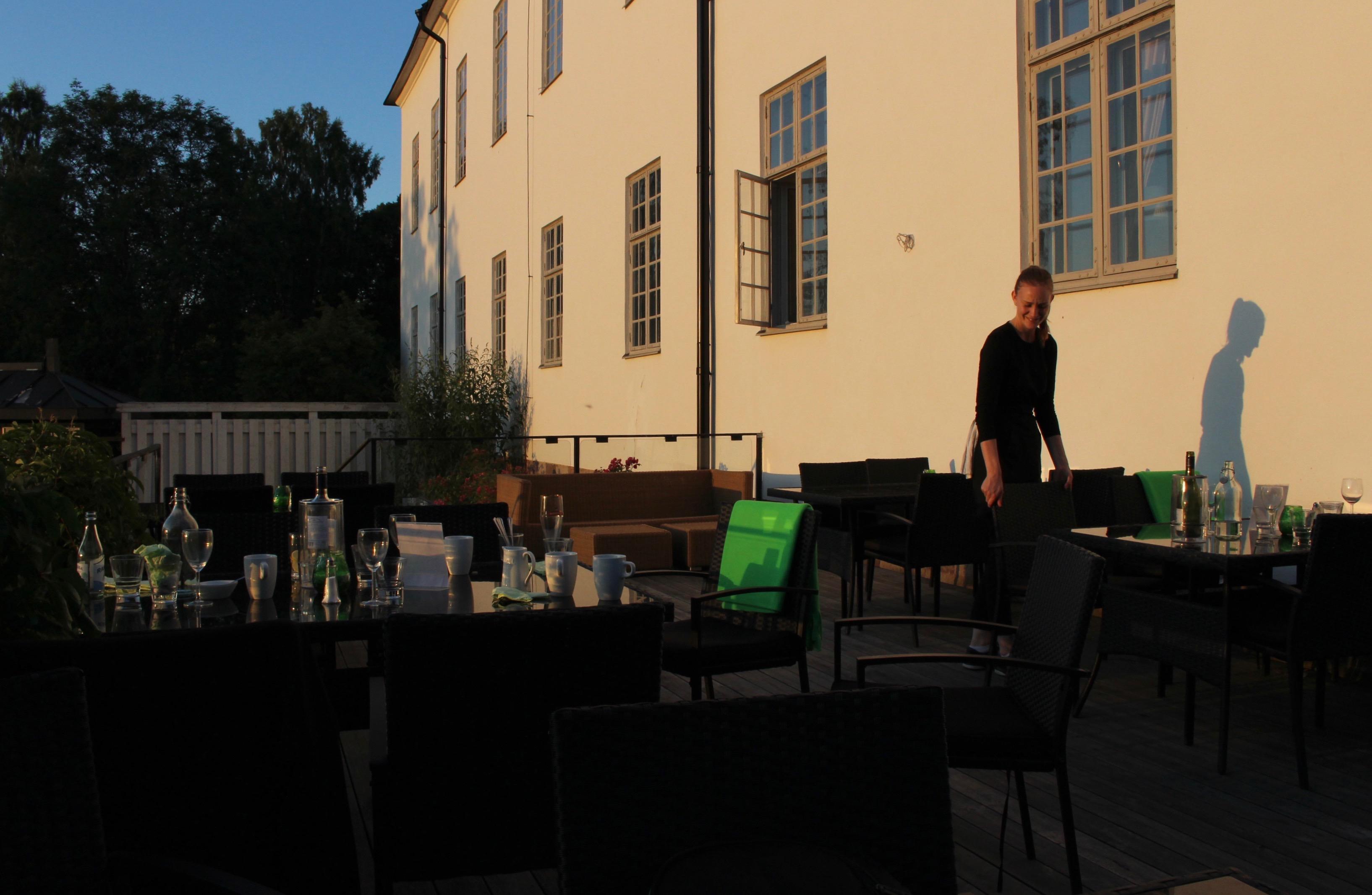 Grillskola på Årsta slott