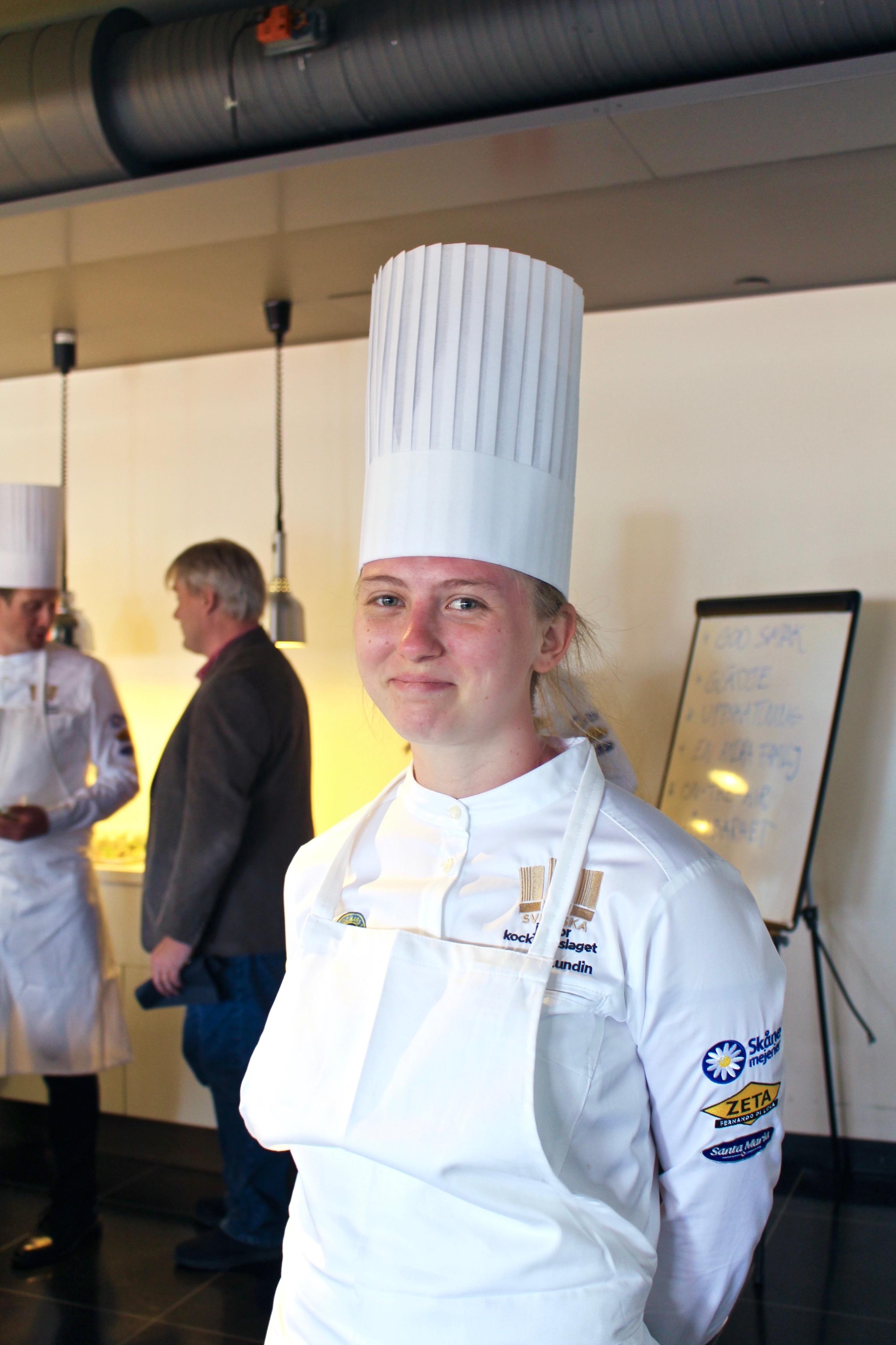 Annie Lundin, lagkapten Juniorkocklandslaget 2018