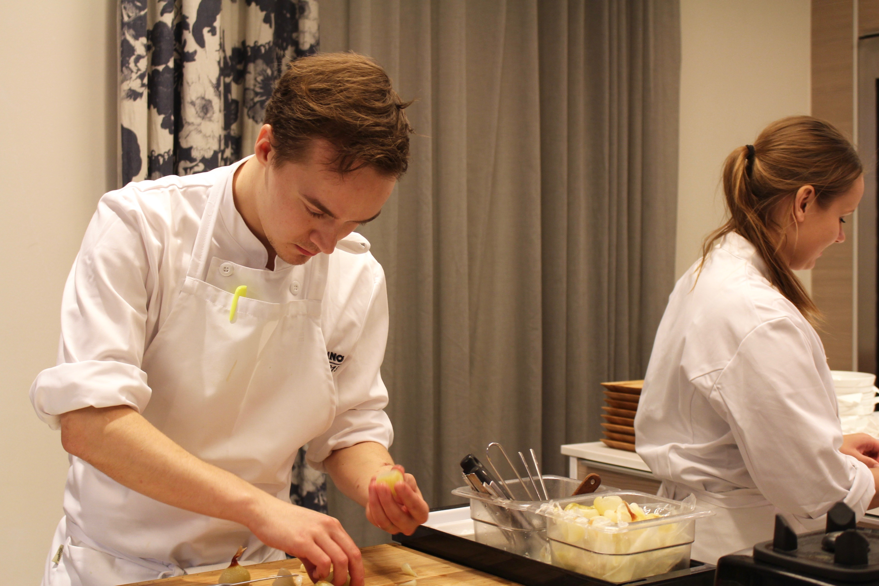 S.Pellegrino Young Chef Awards 2018 - semifinal på Aveqia i Stockholm, oktober 2017.