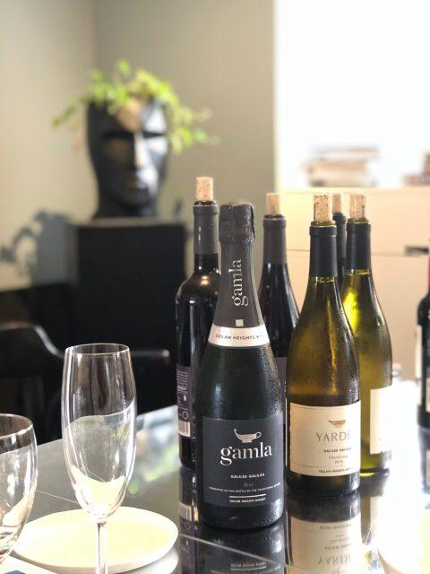 Vinprovning israeliska viner