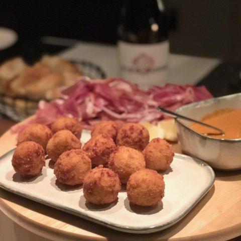 Arancini - friterade risottobollar