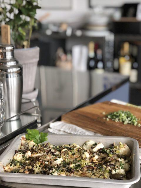Gratinerad fänkål med ricotta och parmesan