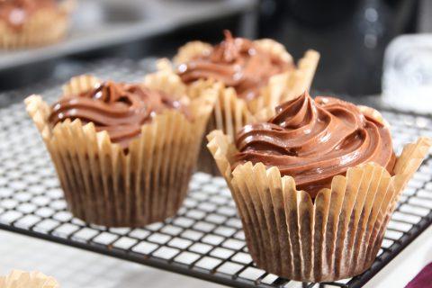 Tre Nutella Cupcakes