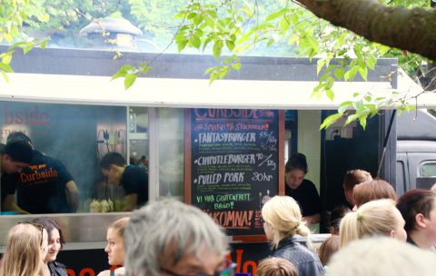 Curbside foodtruck på matfestivalen Smaka på Stockholm