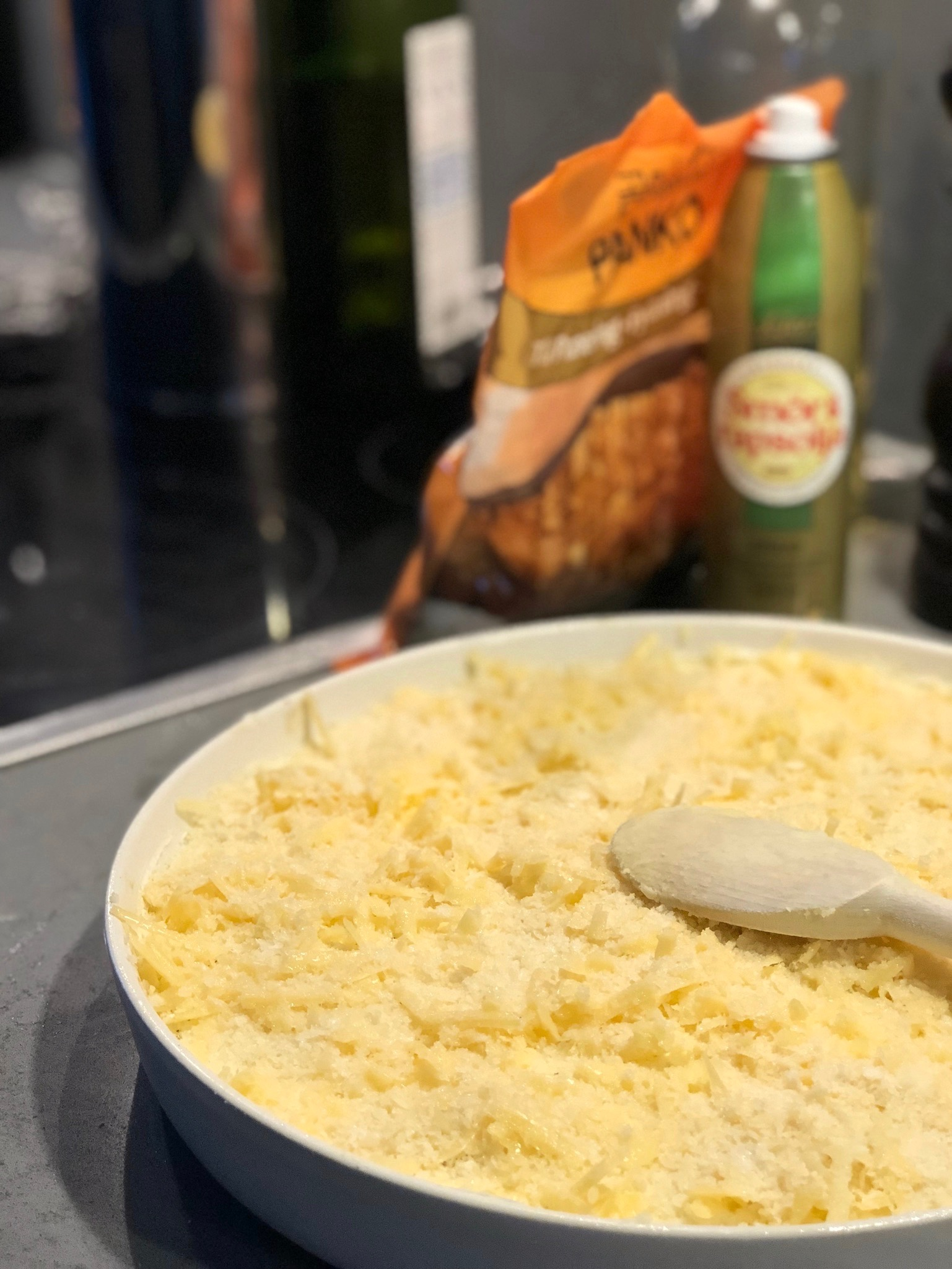 Gratinerat potatismos