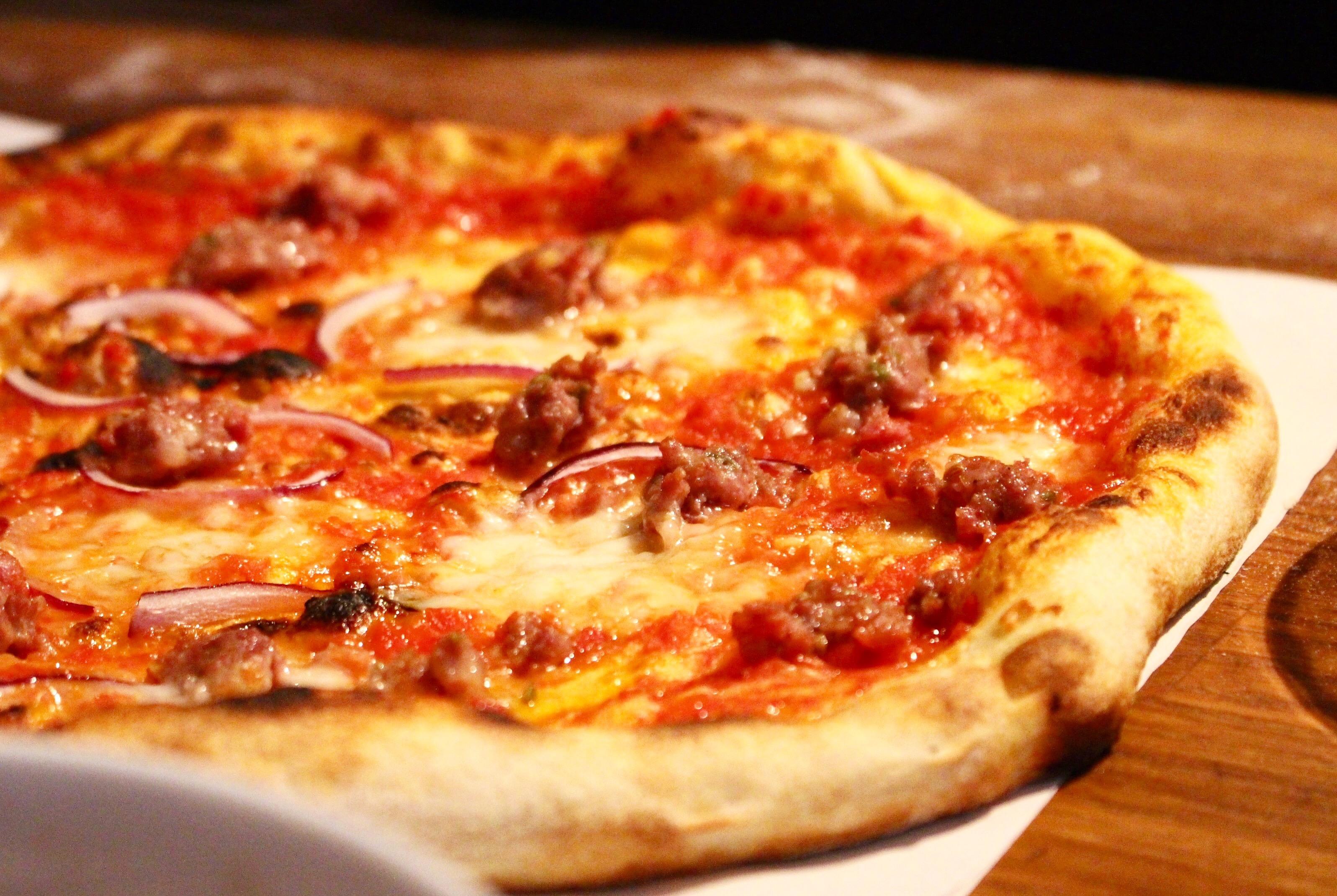 Steg för steg hur man lyckas med pizza