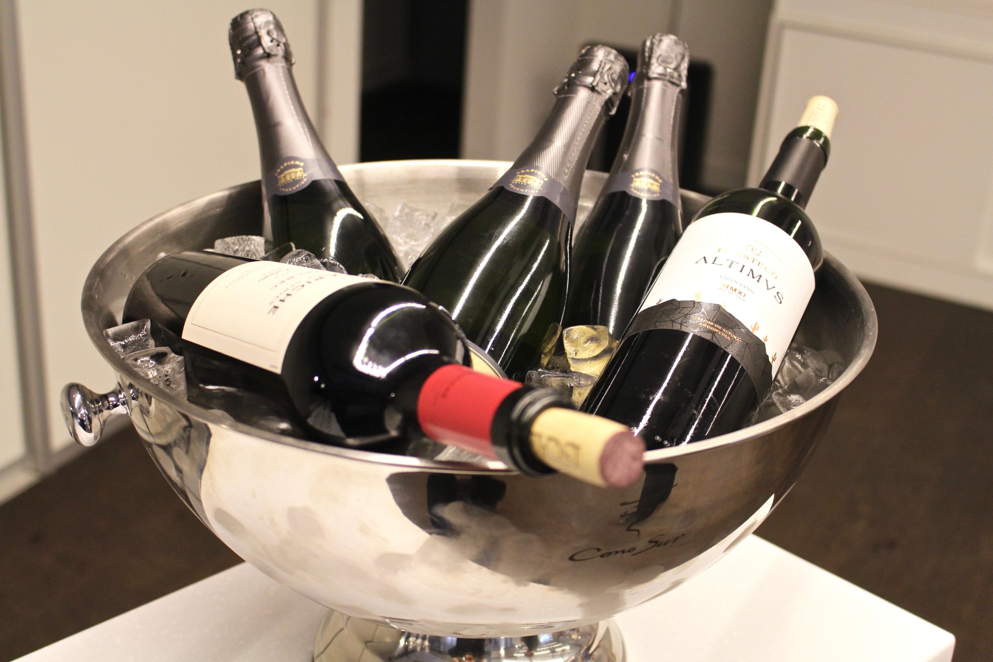 Argentinska viner vid Arvid Rosengrens prisutdelning på Restaurangakademien i Stockholm.