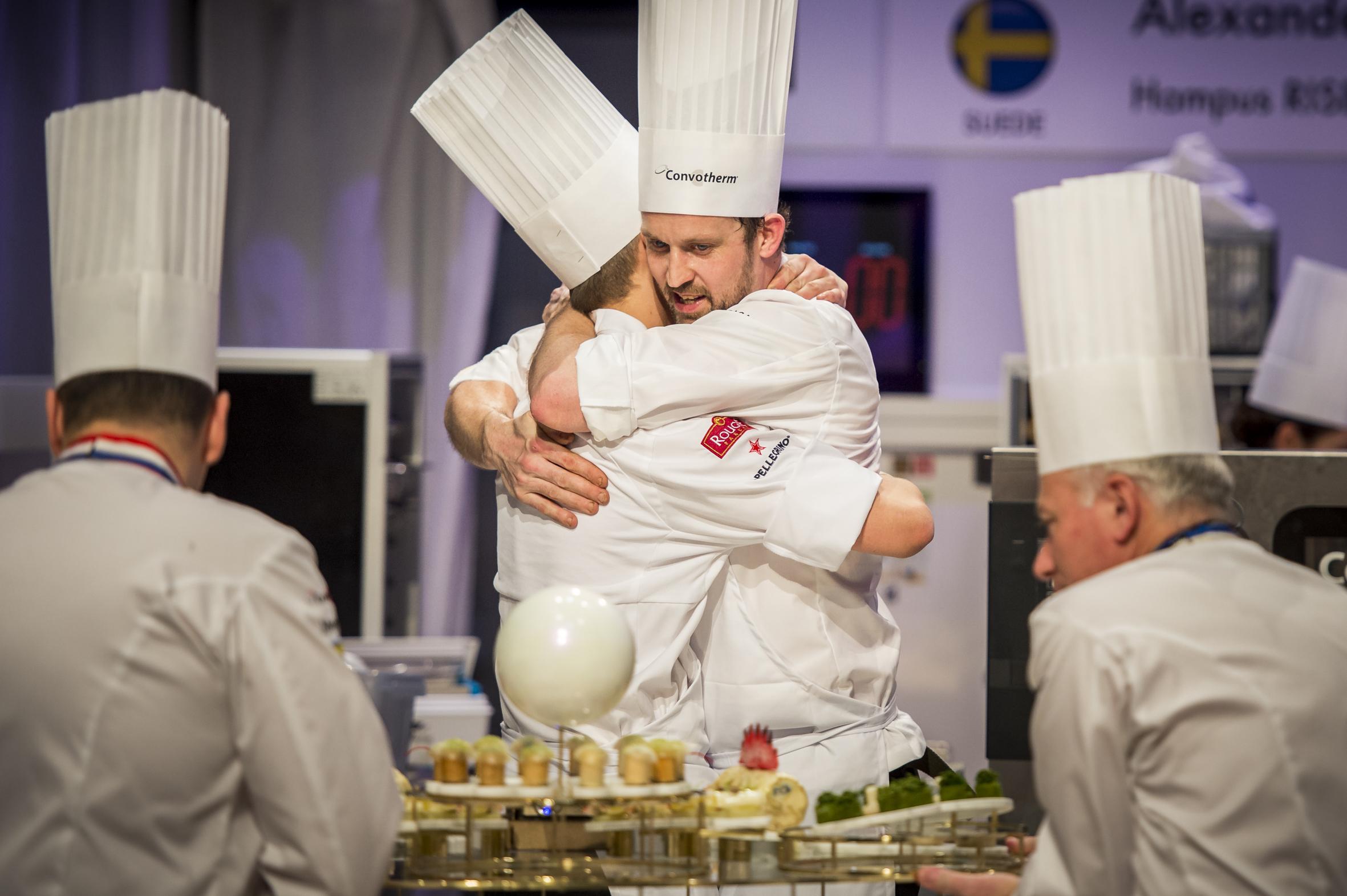 Alexander Sjögren och Hampus Risberg, Bocuse d'Or 2017