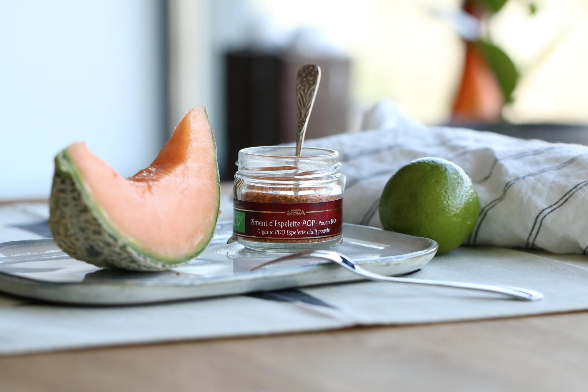Nätmelon (cantaloupe) med spännande smaker